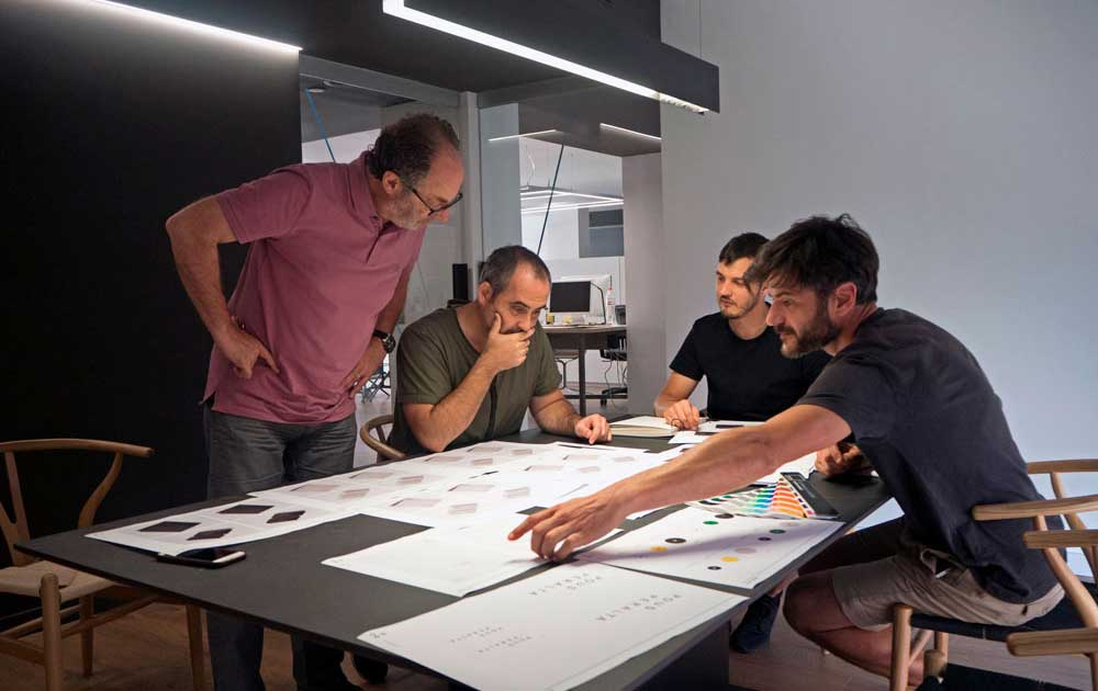 reunión diseño gráfico en mataró